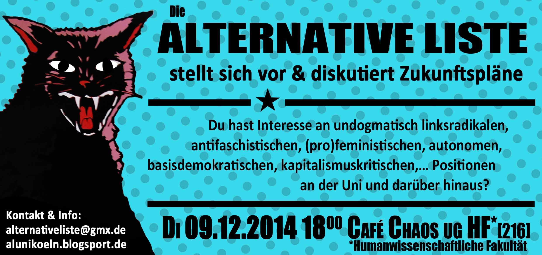 AL Kennenlernplenum 09.12.2014